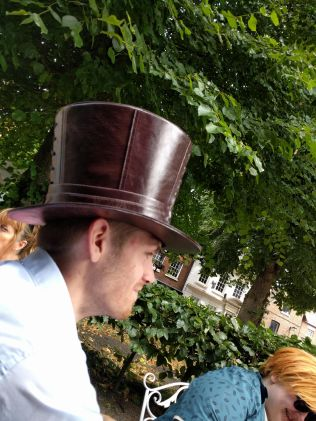 This hat is far grander than it first appears