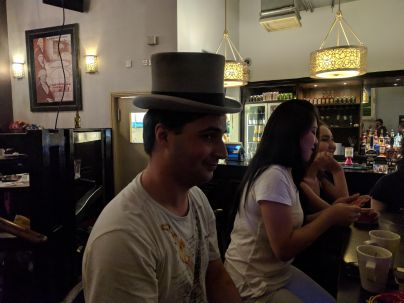 This top hat...