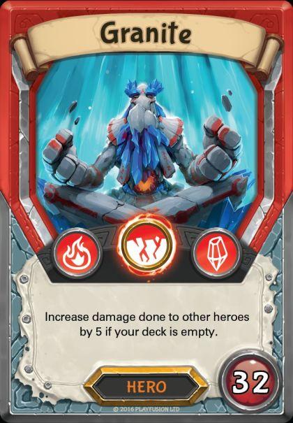 Granite Hero Card