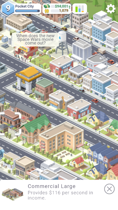 Mobile Game Review: Pocket CityFree