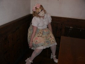In second place was Jenny with her creepy living doll!