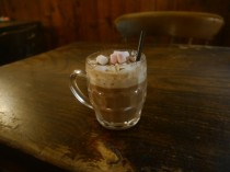 Hot Chocolate with Cointreau