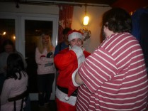 I have no idea what I was doing here... But Super Secret Santa pictures from here on!