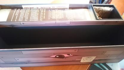 Newly opened box.