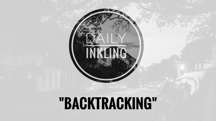 Writing Prompts: Backtracking