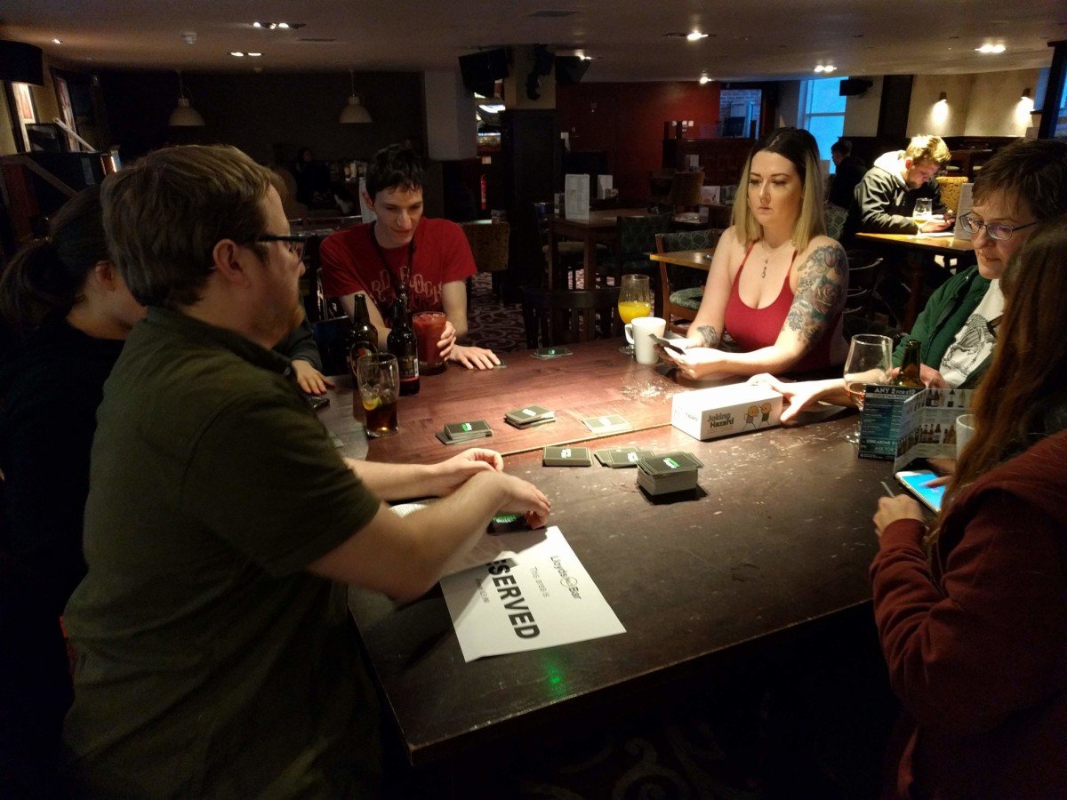 GeekOut Shrewsbury January '19 – It's Not Going To Chairs