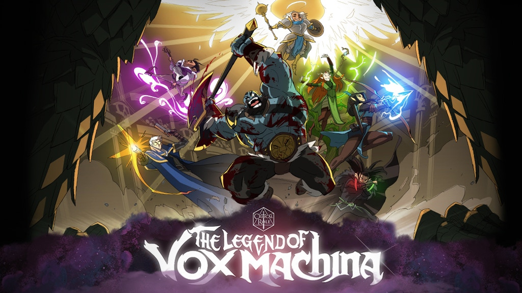 Kickstart Highlight – Critical Role: The Legends of Vox Machina