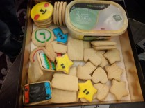 Vidya game biscuit pile