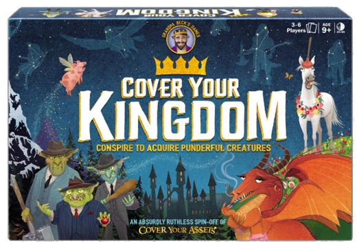 Kickstarter Highlight: Cover Your Kingdom – Card Game
