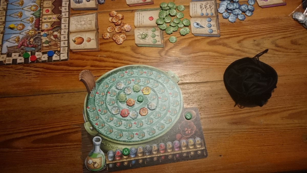 Board Game Review: The Quacks of Quedlinburg (Quacks)