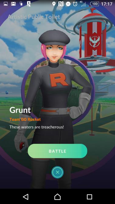 Pokémon Go: Team GO Rocket HasArrived