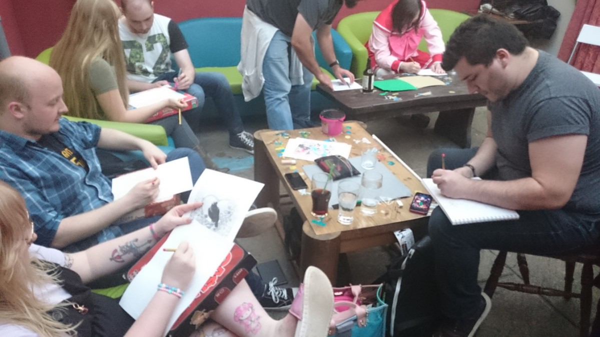 GeekOut Bristol Meet – August 10th: All The Anime Gallery