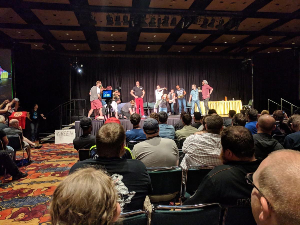 Gen Con – Meeting ZombieOrpheus