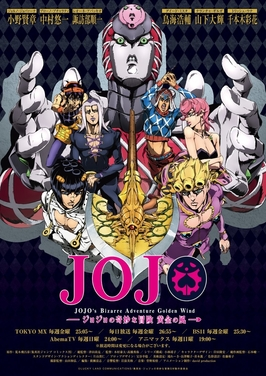 Anime Review: JoJo's Bizarre Adventure – Golden Wind