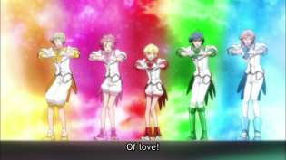 Cute High Earth Defense Club LOVE! 25
