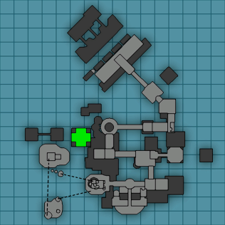 Comparing a map from the first game...