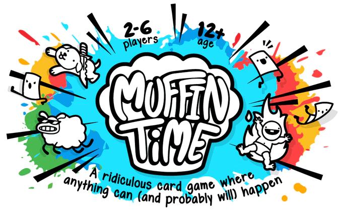 Kickstarter Highlight – Muffin Time: The Random Card Game by BigPotato