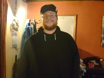 We believe Alex looked like a young George R.R. Martin... But I gave him a Jotaro hat to keep.