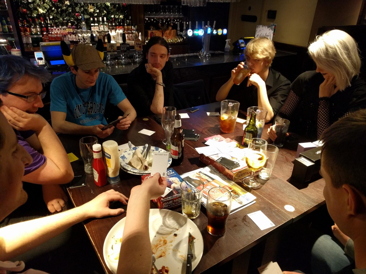 GeekOut Shrewsbury Meet – November: Away Team